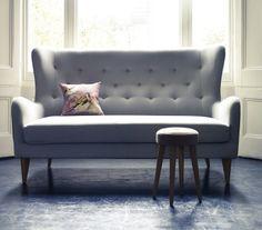 Wing Backed Sofa, mydeco