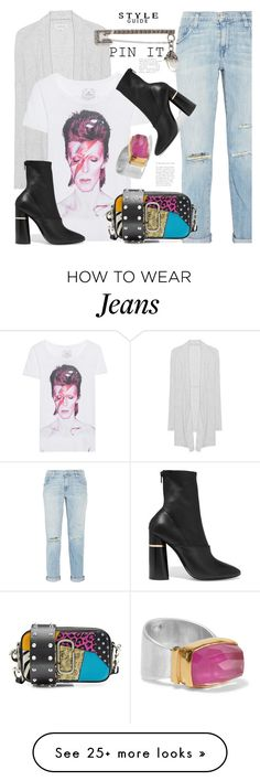 """""""Pin It"""" by hattie4palmerstone on Polyvore featuring Velvet by Graham & Spencer, Trunk LTD, Current/Elliott, Alexander McQueen, 3.1 Phillip Lim, Katerina Makriyianni and Marc Jacobs"""