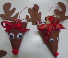 5ο ΝΗΠΙΑΓΩΓΕΙΟ ΚΑΛΑΜΑΤΑΣ-ΓΛΥΚΑ ΤΑΡΑΝΔΑΚΙΑ Class Christmas Gifts, Christmas Activities, Christmas Crafts For Kids, Simple Christmas, Holiday Crafts, Christmas Ornaments, Craft Day, Art N Craft, Advent