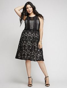 Cool Lane Bryant Mixed Lace FIT & FLARE Party Cocktail Dress 14,16,18,20,22,24,26,28 2017-2018 Check more at http://dressesshop.top/product/lane-bryant-mixed-lace-fit-flare-party-cocktail-dress-1416182022242628-2017-2018/