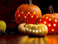 Okay, so it's just a picture, but I'm envisioning drilling holes into pumpkins with a power drill. This is awesome!
