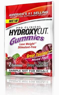Free Hydroxycut Weight loss gummies.