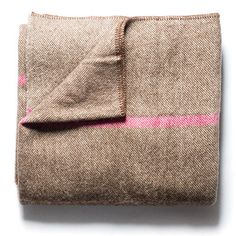 Maine Wool & Woven Blanket