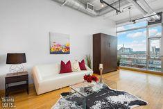 SoHo Starwood Lofts - #705 | Toronto LOFTS Concrete Posts, Exposed Concrete, Toronto Lofts, Concrete Ceiling, Lofts For Rent, Soho Loft, Rental Listings, Floor To Ceiling Windows, Window Wall