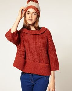 Fisherman swing sweater