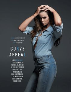 Robyn Lawley perfectly explains why you don't need a 'box gap'. Read more on Mamamia.com.au. #bodyimage #bodypositive #fashion #model