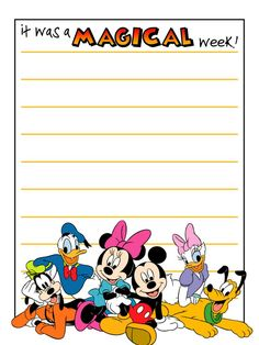 Journal Card - It was a magical week! - Group - lines - 3x4 photo: A little 3x4inch journal card to brighten up your holiday scrapbook! Click on options - download to get the full size image (900x1200px). Clipart belongs to Disney. Fonts are StuVetica2 www.dafont.com/stuvetica2.font and Mickey www.dafont.com/mickey.font ~~~~~~~~~~~~~~~~~~~~~~~~~~~~~~~~~ This card is **Personal use only - NOT for sale/resale/profit** If you wish to use this on a blog/webpage please include credits AND link…