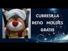 COMO HACER CUBRESILLAS DE RENO NAVIDEÑO. MOLDES GRATIS. 2019 - YouTube Teddy Bear, Crafts, Animals, Reno, Erika, Youtube, Slipcovers For Chairs, Christmas Art, Christmas Decor