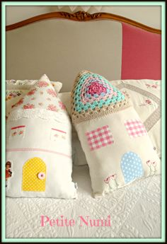 House Pillows  made by petite numi