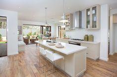 Brentwood - Simonds Homes Simonds Homes, New Home Designs, Kitchen Island, New Homes, Dining Room, Home And Garden, Design Inspiration, House Design, Interior Design
