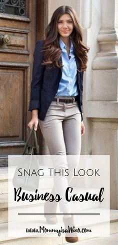 Snag This Look – Business Casual Fashion for work, business, and more. Comfortab… Snag This Look – Business Casual Fashion for work, business, and more. Snag This Look. Business Casual Outfits For Work, Business Professional Outfits, Professional Dresses, Business Chic, Office Attire Women Professional Outfits, Business Casual Interview, Business Fashion Professional, Business Casual Womens Fashion, Business Ideas