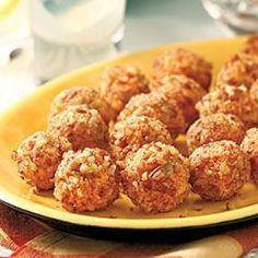 Kaasballetjes met noten