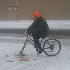 Tägää se kaveri kuka aikoo tulevana talvena säästää bensakuluissa