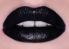 Lime Crime STYLETTO opaque black lipstick