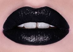 STYLETTO opaque black lipstick