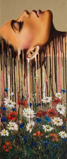 Elena Kraft Paintings for Sale Elena Kraft Paintings for Sale eva 2781 Arousal II original acrylic painting on nbsp hellip Painting people Canvas Paintings For Sale, Buy Paintings, Nature Paintings, Acrylic Painting Canvas, Acrylic Art, Canvas Art, Flower Canvas Paintings, Painting Flowers, Original Paintings