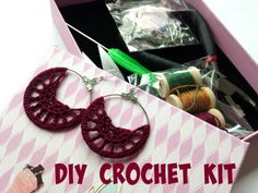 This is an easy crochet DIY Kit which includes everything you need to make yourown 3 pairs of boho chic earrings in three different colors. With this cute DIY kit you will be able to handcraft yourown jewelry and enjoy your ready earrings and wear them over and over again with different outfits. What could be more adorable than the pieces of jewelry you create yourself :) This cute little tool box includes all the materials you need to complete your three projects, as well as the pattern to…