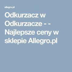 Odkurzacz w Odkurzacze -  - Najlepsze ceny w sklepie Allegro.pl