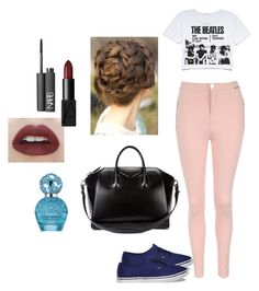 Sem título #838 by rebecadejesusbeca on Polyvore featuring moda, Jane Norman, Vans, Givenchy, NARS Cosmetics and Marc Jacobs