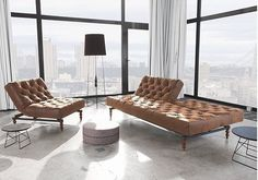 Oldschool sofa i klassisk Chesterfield stil!  #læder #chesterfield #sofa #indretning #stue #bedrenaetter