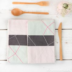 Trapo de cocina de color rosa y mint