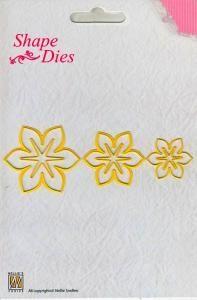 wykrojnik NELLIE SNELLEN - SD044 - kwiatek 3D