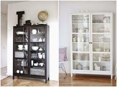 moje domowe inspiracje: Witryna biała czy czarna...