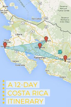 A 12-Day Costa Rica Itinerary - Hunterly Travels