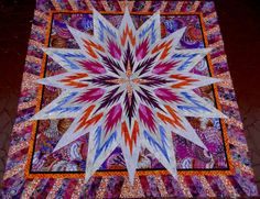 Feathered Star, Quiltworx.com, Made by CI Judy Wurm.