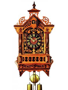 Unusual Cuckoo Clocks unusual antique german cuckoo bird in cage clock | time to be