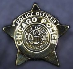 -Chicago Police Badge