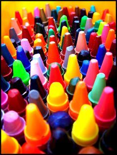 I never could resist a box of crayons.