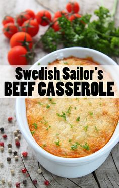 Rachael Ray prepared a hearty meal fit for hard workers. Try her Swedish Sailor's Beef & Potato Casserole Recipe, which slow cooks on a low temperature.