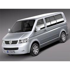 Volkswagen T5 Multivan Passenger 2003-2009 - 3D Model