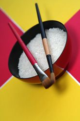 Activities: Make Rice Pictures loved this one for our art project for our summer school that i am starting with the kids tomorrow we will try this one looks like fun we will be doing math science art and i will be teaching them piano i dont want them sitting in front of screens to many things they can do with there time