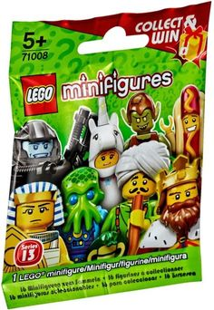 Lego 71008 Series 13 Minifigures New/Sealed Pack Fun Suprise! Legos, Minifigura Lego, Buy Lego, Hot Dog Suit, Toddler Toys, Kids Toys, Baby Toys, Figurine Lego, Construction Lego