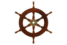"18"" Ship's Wheel on OneKingsLane.com"
