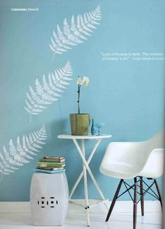 Stenciling is an excellent way to produce beautiful effects on your walls. Whether you're providing pretty scenery on a concrete-block garden wall, or dressing up your dining room, our designer stencils will turn you from a painter into an artist! They're a great alternative to wallpaper especial...