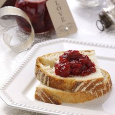 Holiday Cranberry Jam Recipe from Taste of Home - submitted by Sandee Berg of Fort Saskatchewan, Alberta
