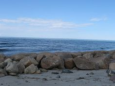Paines Creek Beach, Cape Cod ... Many summers of my youth were spent on those rocks. <3