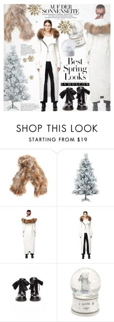 """Let it Snow"" by vanjazivadinovic ❤ liked on Polyvore featuring Backlash, Fraser Hill Farms, L.G.B., A.F. Vandevorst, H&M, Mamas & Papas, Wedgwood, polyvoreeditorial and svmoscow"