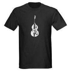 Andrew Christmas...Upright Double Bass T-Shirt> Upright Double Bass Shirt> The Band Geek Shop
