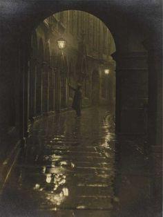 Lamplighter, Victoria Terrace 1928