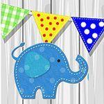 Веселый слон (Развивайки от Евгении - Ярмарка Мастеров - ручная работа, handmade