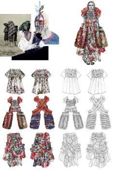 Fashion Sketchbook - fashion design drawings & inspirations; fashion portfolio // Flo Hughes