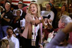 Ann Romney Beach | Campaign Trail Fashion: Ann Romney's Election Style