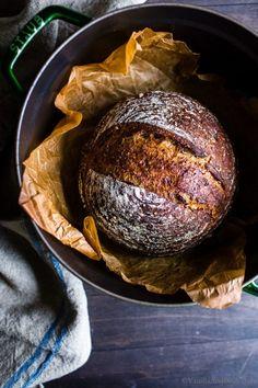 Rock Crock Recipes, Chef Recipes, Bread Recipes, Cooking Recipes, Soup Recipes, Starter Recipes, No Yeast Bread, Sourdough Bread, Bread Baking