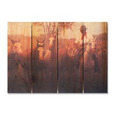Argentine Gaucho 22.5x16 Indoor/ Outdoor Full Color Wall Art