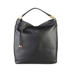 d25ba01b5da8 COCCINELLE Roxy Nero Shoulder Bag - MyaBelle - 1