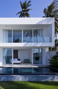 Holiday Inspiring Palm Tree Hideout In Vietnam: Oceanique Villas | Villaaaa  | Pinterest | Villas, Architects And Modern